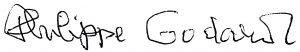 Philippe Godard signature